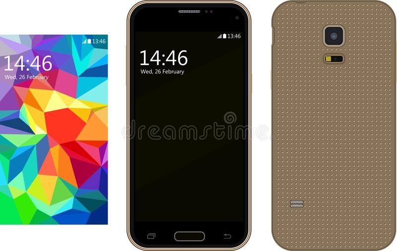 New modern Smartphone stock photo