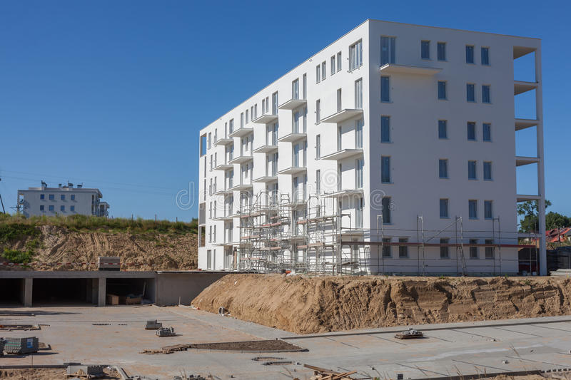 Download New Multi-Storey Building Under Construction Stock Photo - Image: 32906098