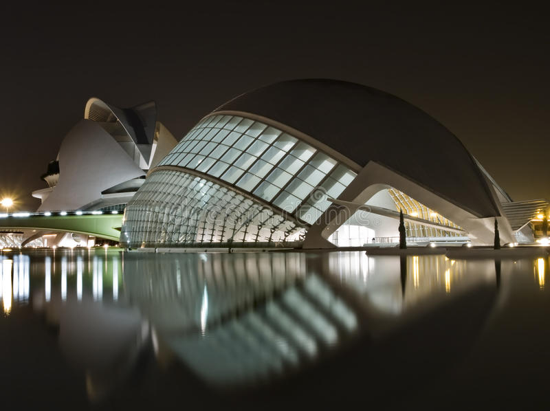 Download New Museums in Valencia editorial stock image. Image of building - 12977234