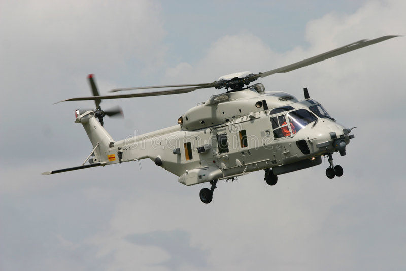 The NEW NH90 Helicopter stock photography