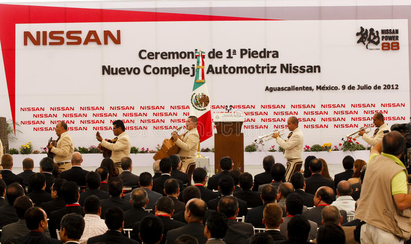 Download New Nissan Car Plant In Mexico Editorial Stock Photo - Image: 25636933