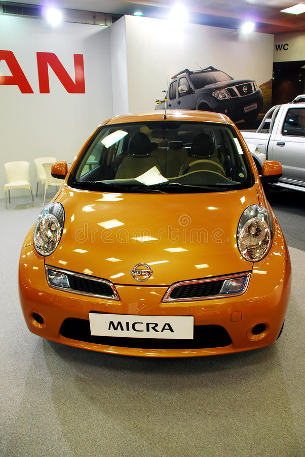 Free New Nissan Micra Royalty Free Stock Image - 14856496