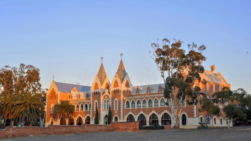 New Norcia, orphanage and teaching complex, rebuilt over three generations by the benidictine Monks and Sisters. stock photos
