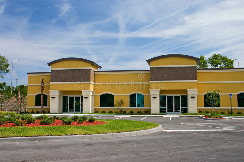 New office complex stock images