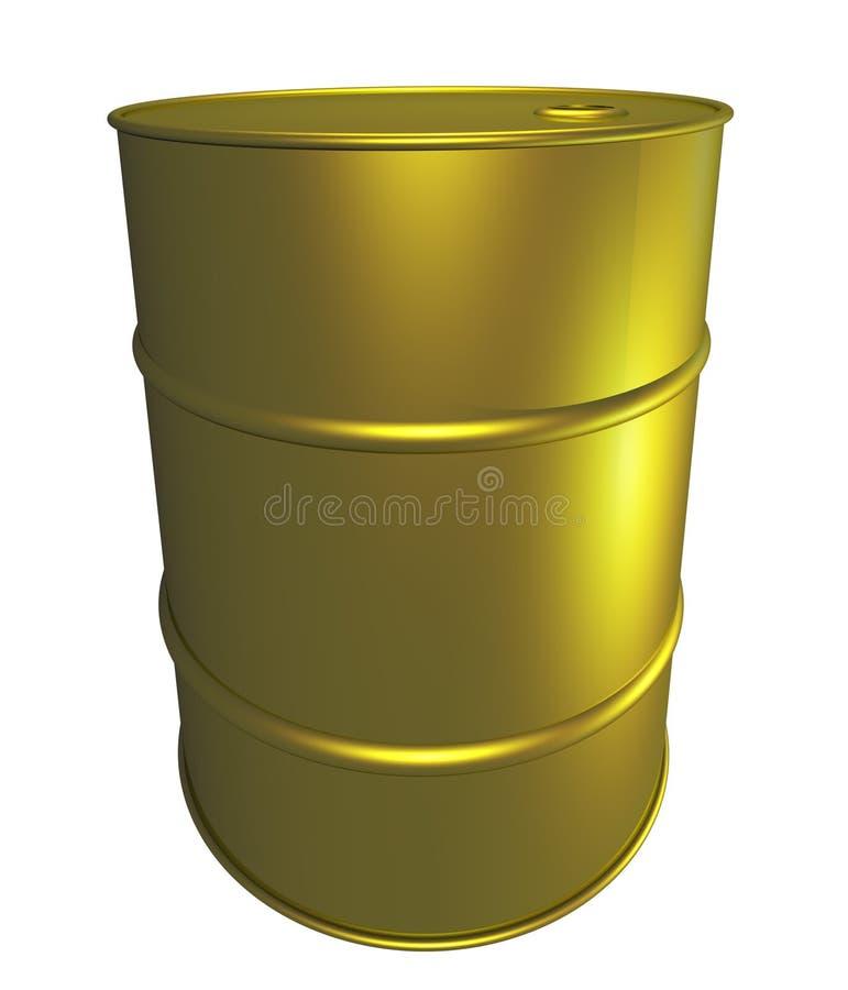 New Oil drum royalty free illustration