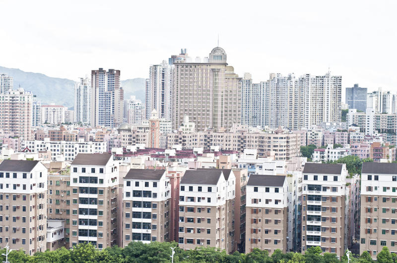 Download New and old stock photo. Image of flats, cityscape, housing - 25445304