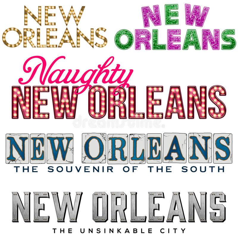 New Orleans royaltyfri illustrationer