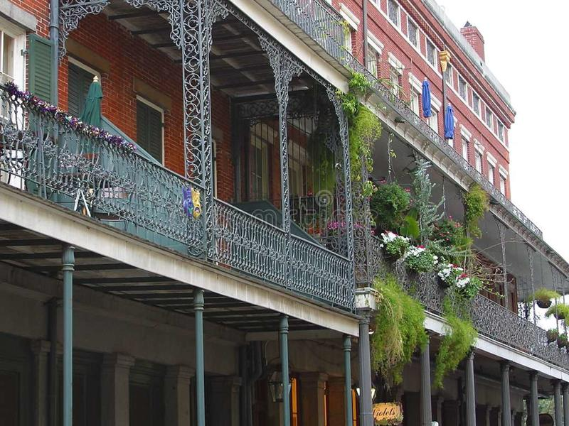 New Orleans 9 stock photography