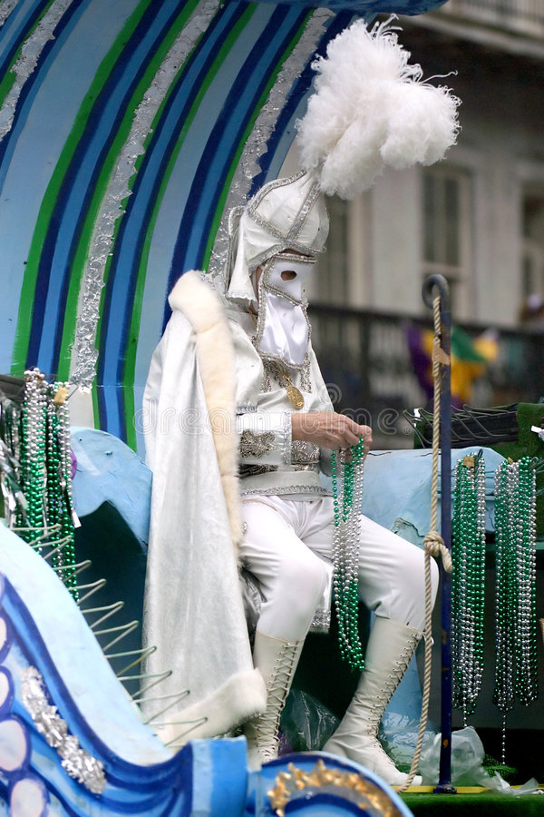 New Orleans Carnaval royalty-vrije stock foto