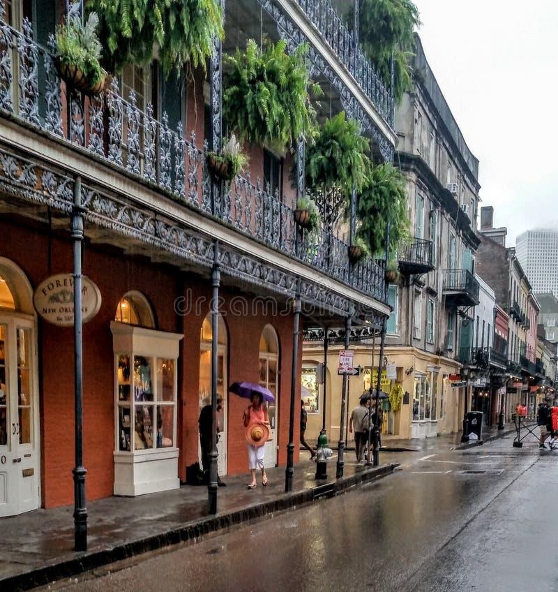 New Orleans, costruzioni, viaggio fotografia stock libera da diritti