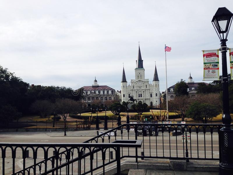 New Orleans Deep Freeze royalty free stock photo