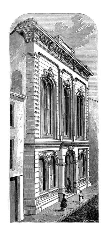 New Orleans Ejemplo del grabado stock de ilustración