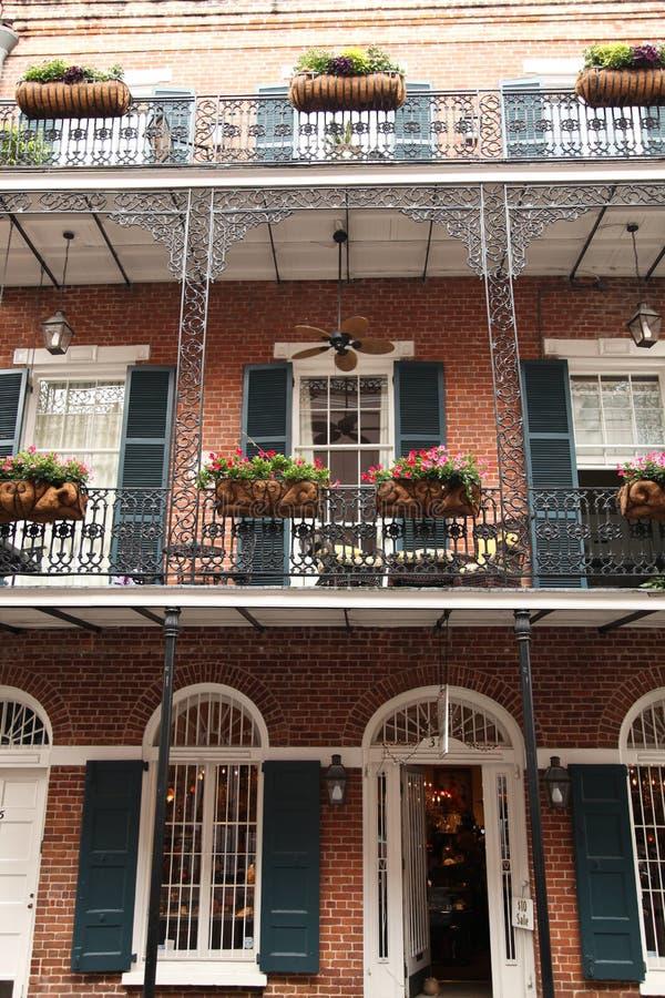 New Orleans - escena de la calle imagenes de archivo