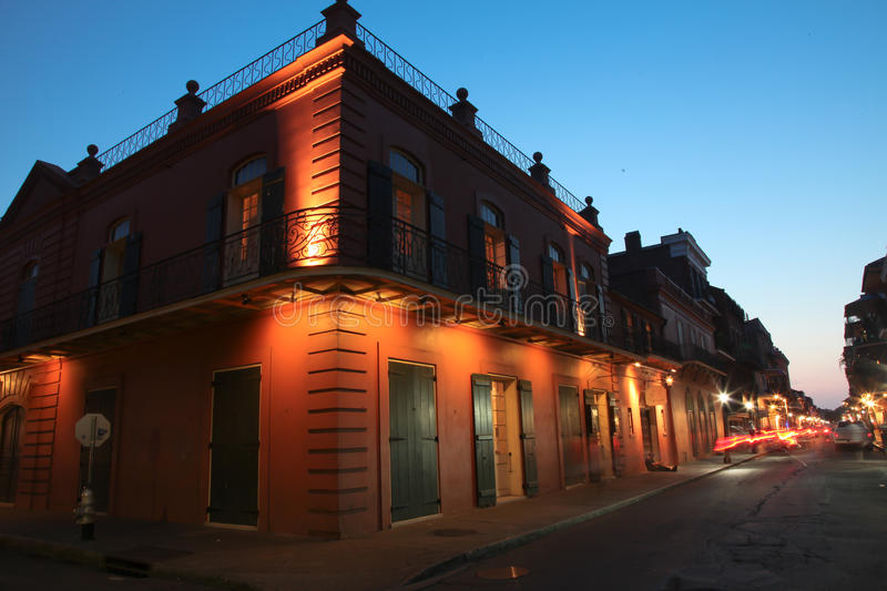 New Orleans French Quarter stock images