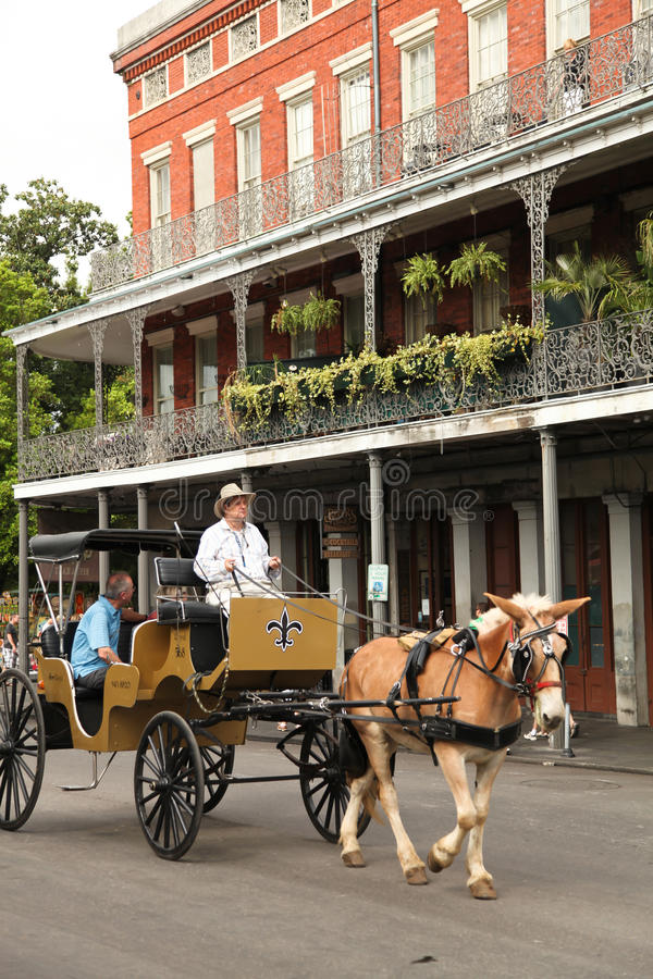New Orleans - French Quarter royalty free stock images