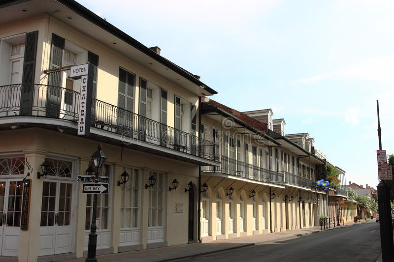 New Orleans French Quarter Street stock photo