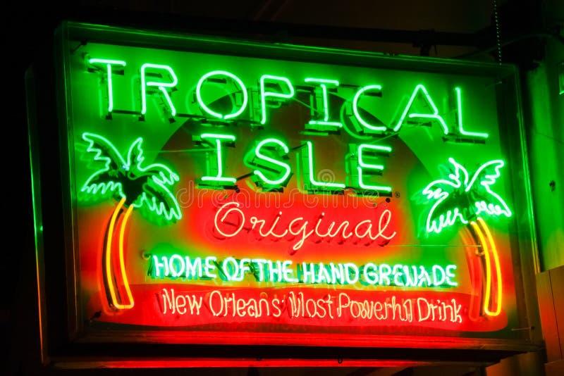 New Orleans - Haupt von der Handgranate lizenzfreies stockbild