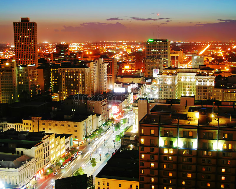 New Orleans, Louisiana stockfoto