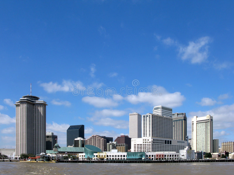 New Orleans Louisiana Downtown Skyline Cityscape stock image
