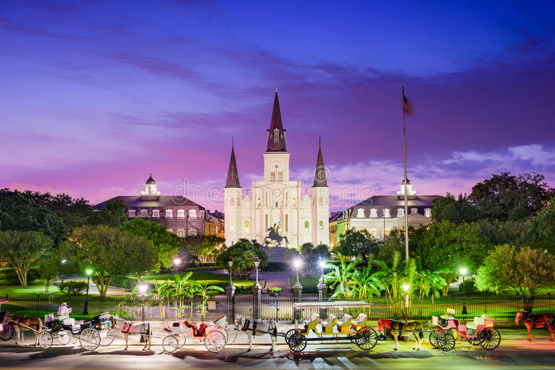 New Orleans Louisiana royalty free stock photo