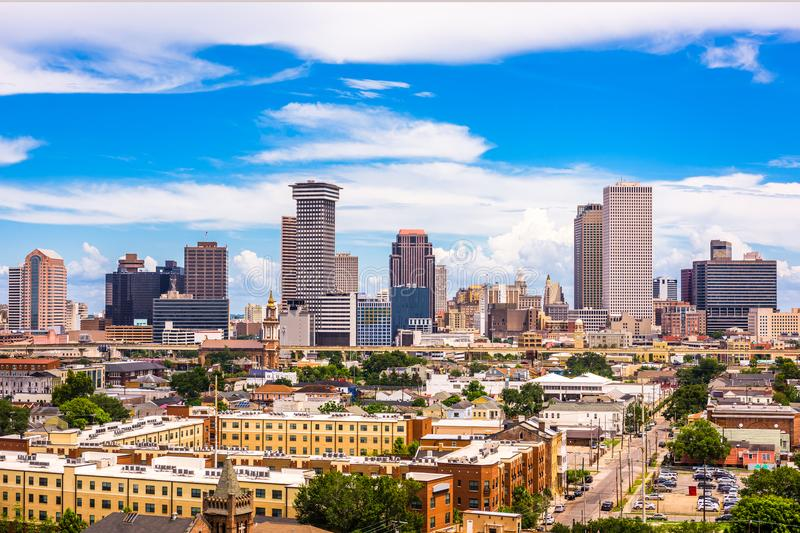 New Orleans, Louisiana Skyline royalty free stock image
