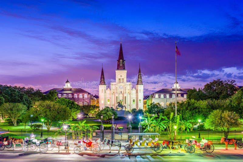 New Orleans, Louisiana, USA stockfotos