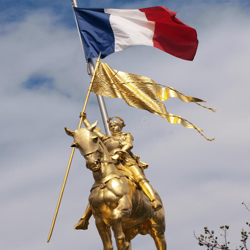 New Orleans - Louisiana - USA. New Orleans - Louisiana. The Joan of Arc monument in the French Quarter (Vieux Carre) of New Orleans in the state of Louisiana in stock photo