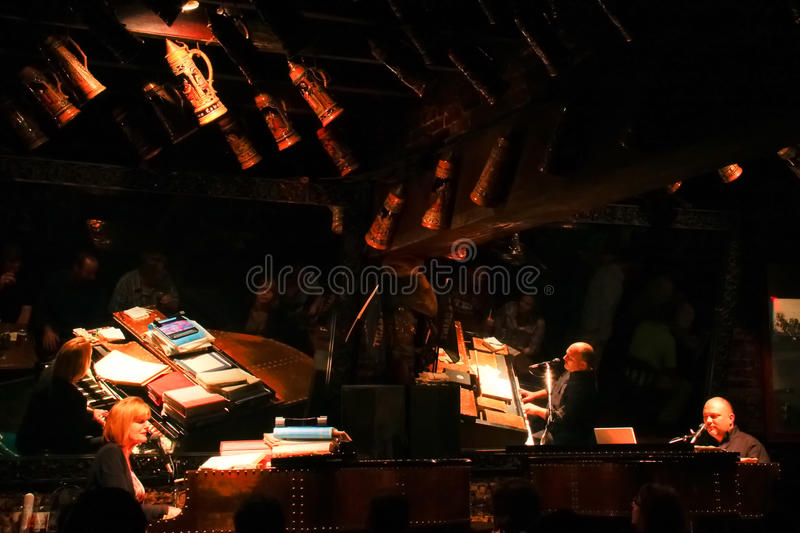 New Orleans Pat OBriens Dueling Piano Bar stock photos