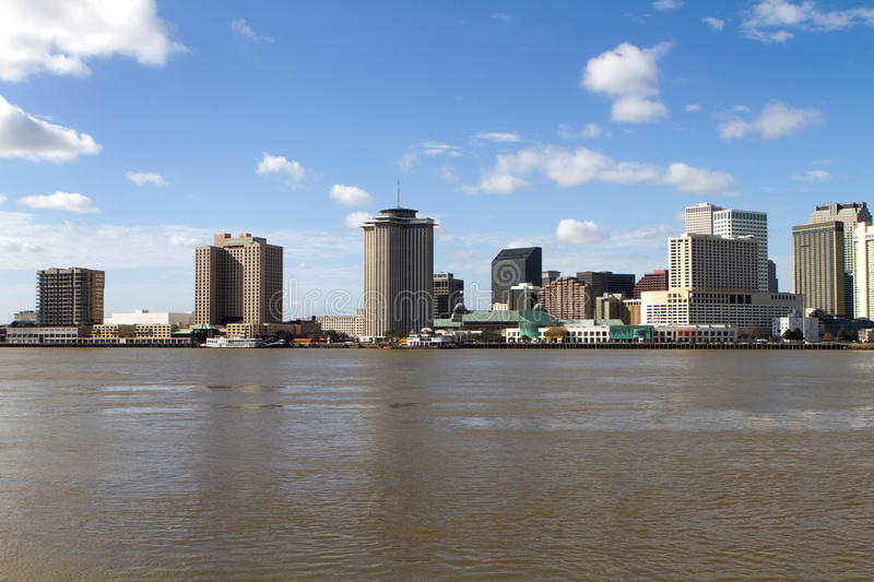 New Orleans Skyline royalty free stock images