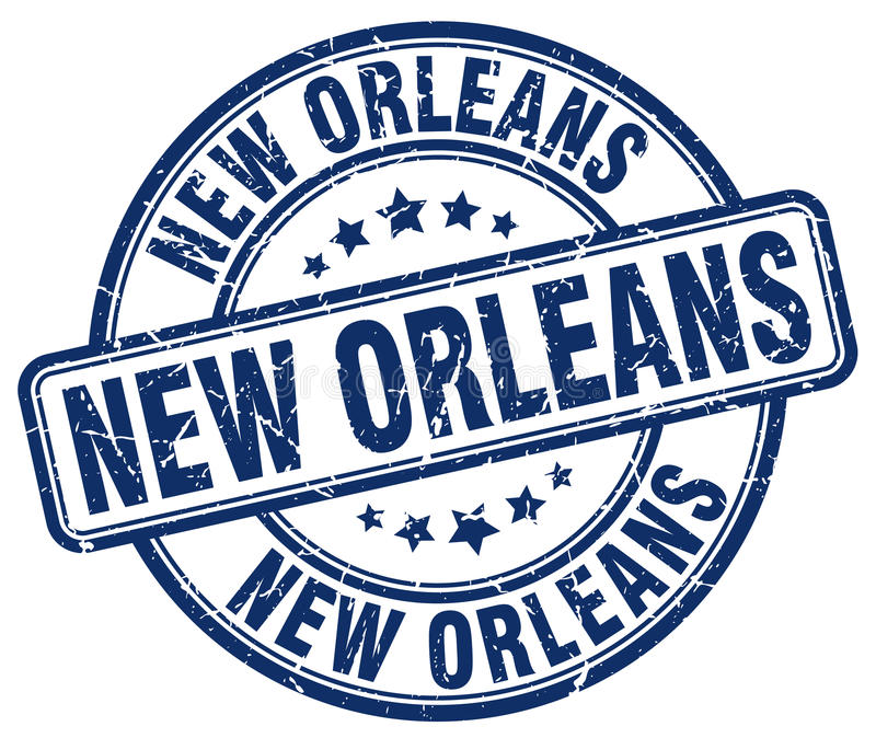 New Orleans stämpel vektor illustrationer