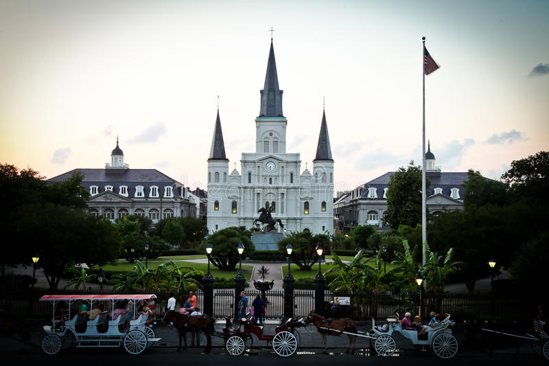 New Orleans St. Louis Cathedral royalty free stock image