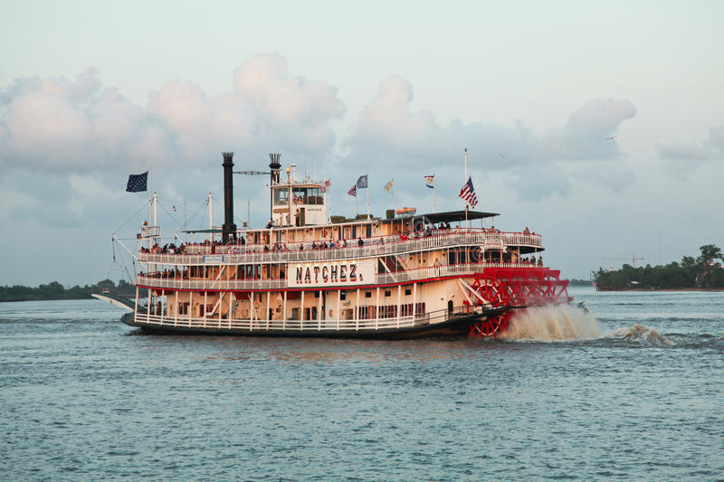 New Orleans steamboat stock images