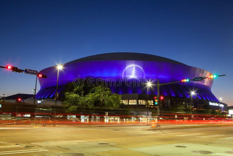 New Orleans Superdome fotografía de archivo libre de regalías