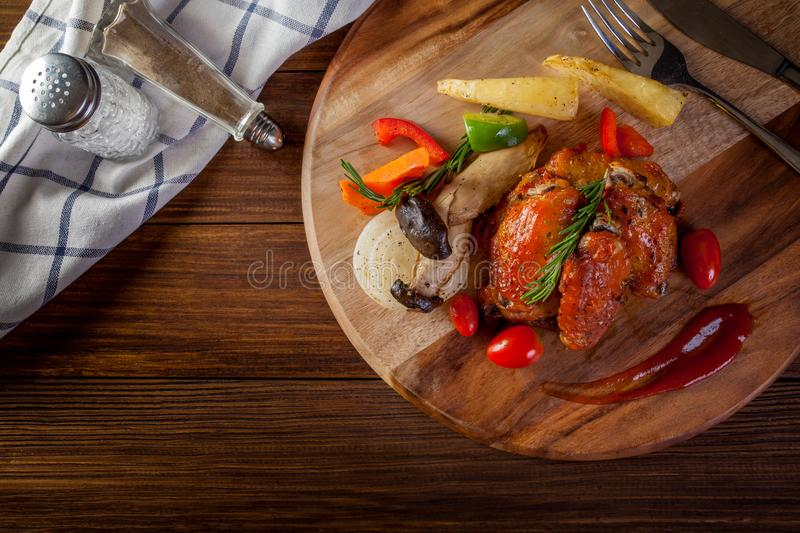 New Orleans Wings stock photo