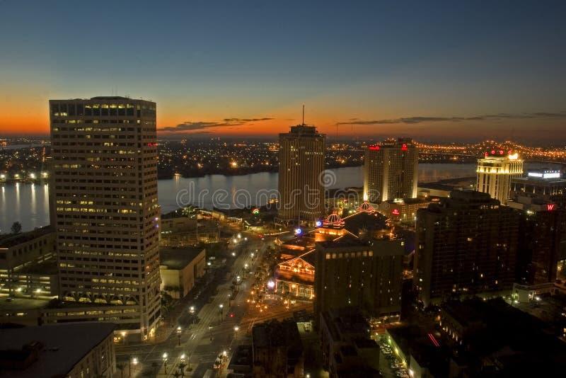 New- Orleansmorgen lizenzfreie stockfotos