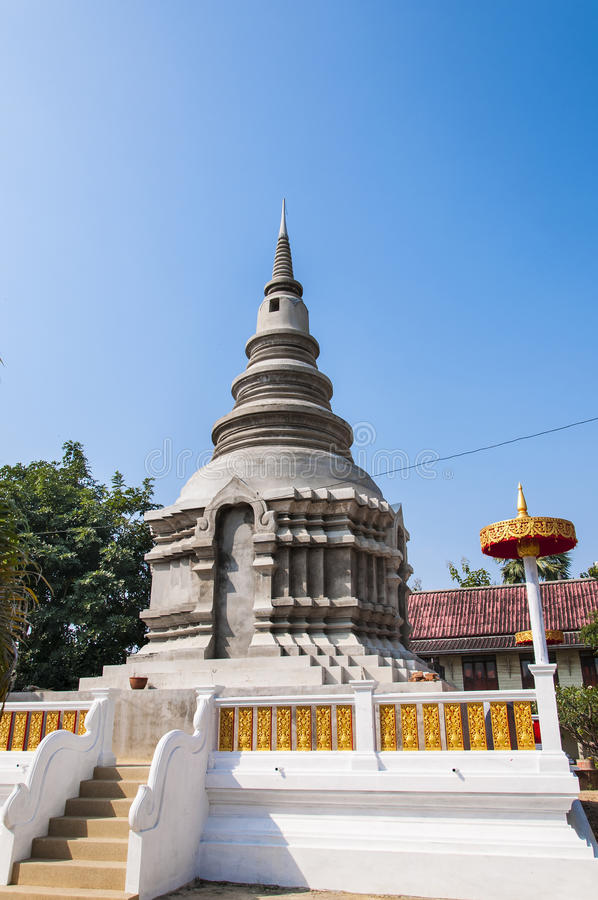 New Pagoda Structure In Thailand Royalty Free Stock Photos