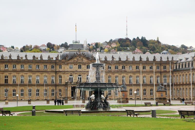 New Palace Square, Stuttgart, Germany Stock Photo - Image of schlossplatz,  sightseeing: 170964784