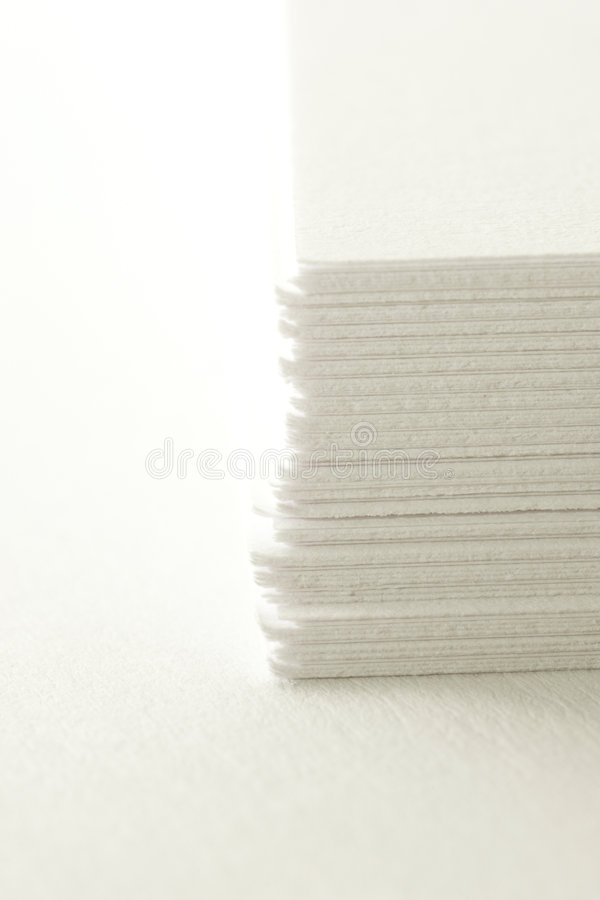 New Paper stock image