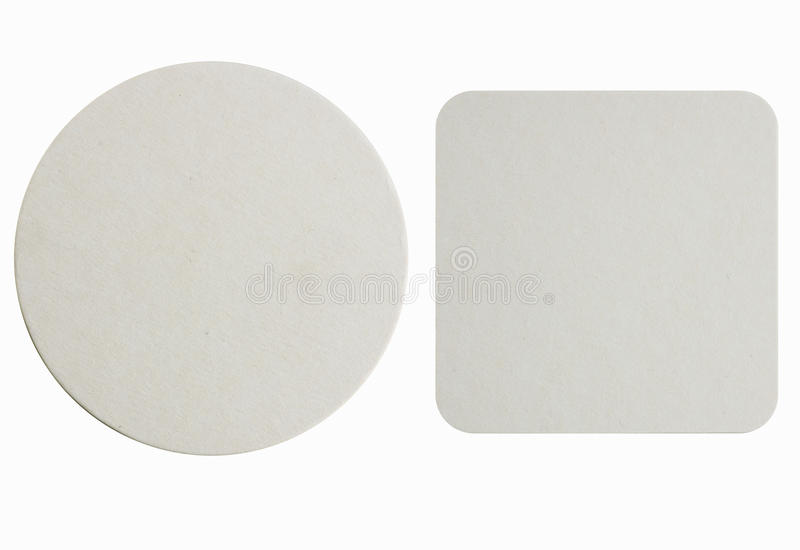 New Paper Coasters Stock Photo Image Of Label House