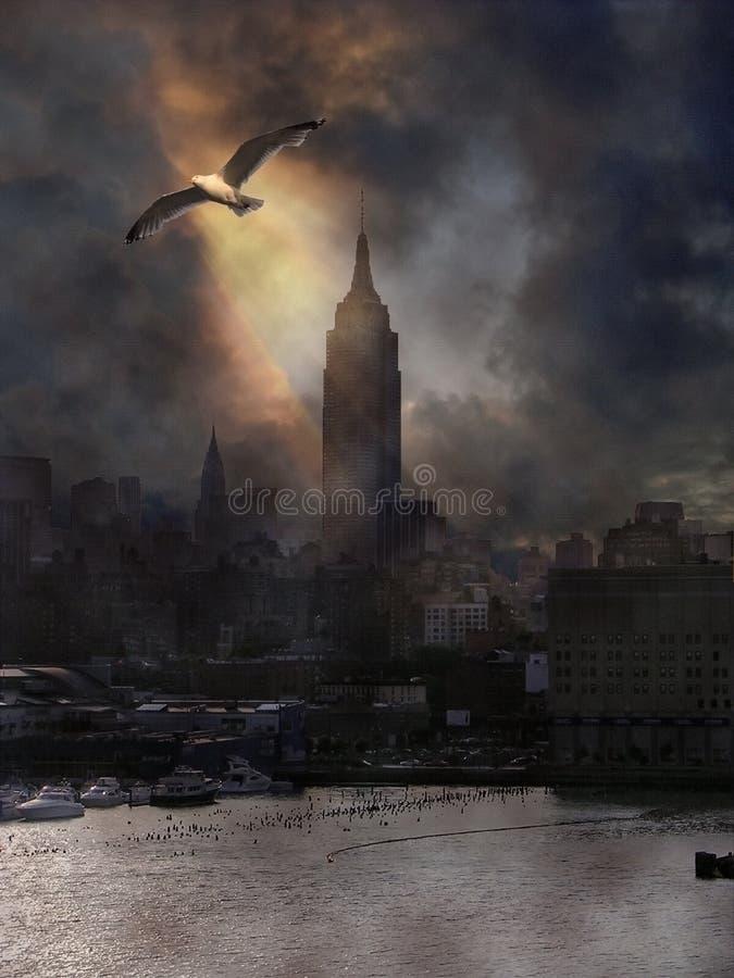 new pier york διανυσματική απεικόνιση