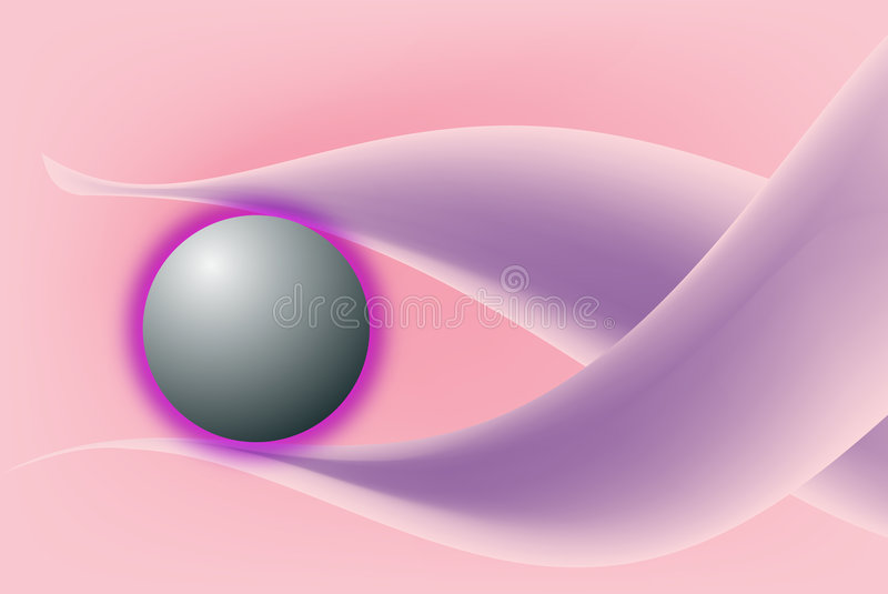 A new planet is born royalty free stock images