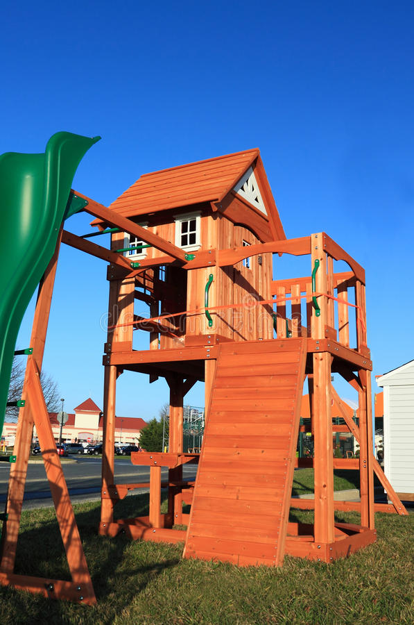 Download New Playground Equipment Royalty Free Stock Photography - Image: 28385557