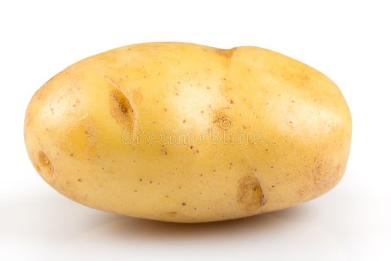 New potato isolated stock photos