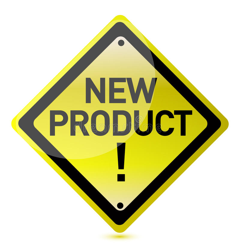 New Product Sign Stock Image