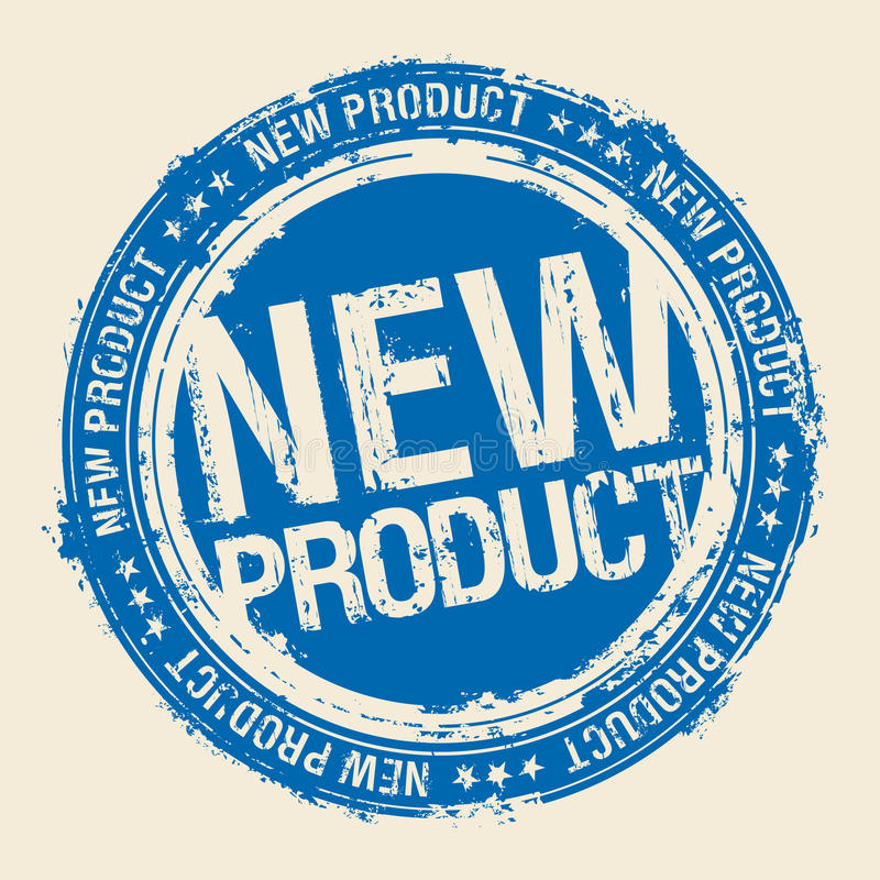 New product stamp. New product vector rubber stamp