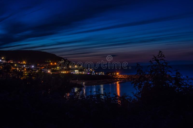 New quay royalty free stock images