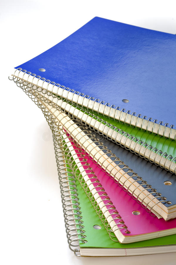 New ready to use school supplies paper stock images