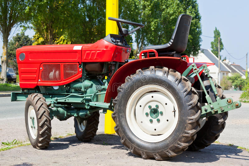 Download New Red Tractor stock image. Image of power, black, strength - 28815441