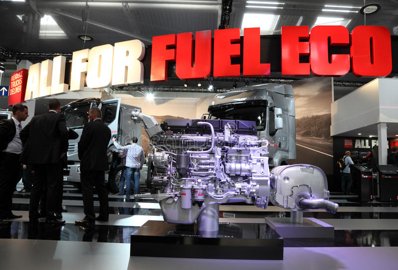 Download New Renault Truck Engine Editorial Image - Image: 26794220