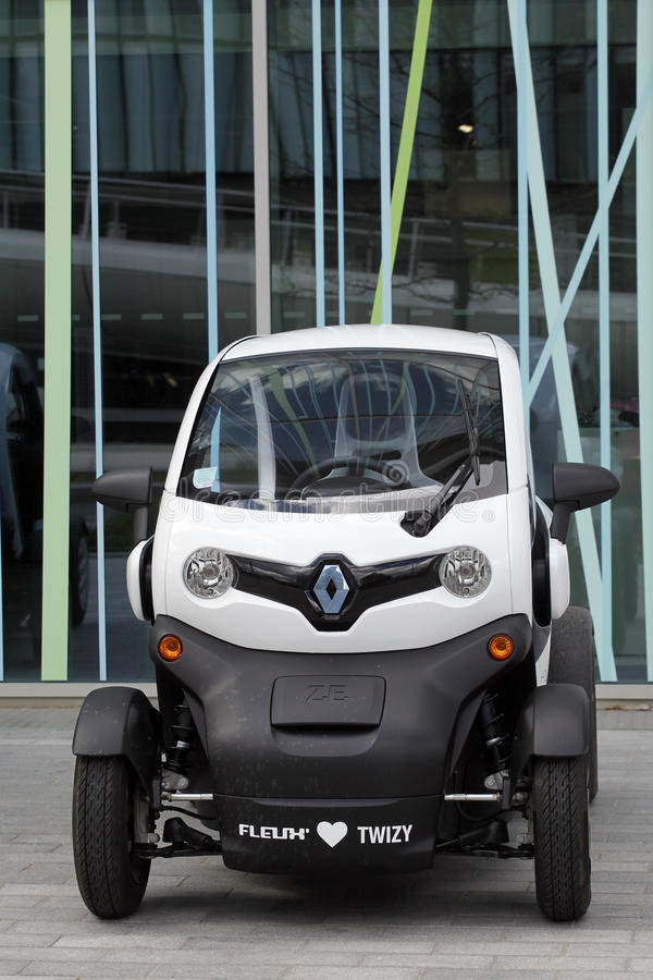 New Renault Twizy Editorial Photo
